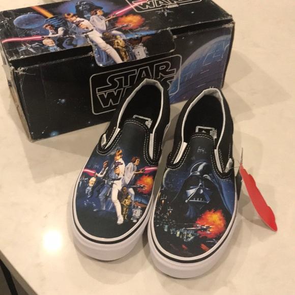 2d0894b84b Authentic NEW Star Wars A New Hope Vans Size 5.5. M 5a3d93c172ea88962a030cf8